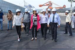 Chairman PQA visited Multi Purpose Terminal - 33