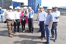 Chairman PQA visited Multi Purpose Terminal - 34