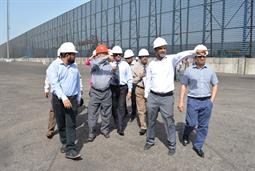 Chairman PQA visited Multi Purpose Terminal - 36