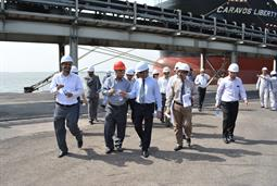 Chairman PQA visited Multi Purpose Terminal - 38