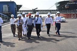 Chairman PQA visited Multi Purpose Terminal - 27