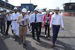 Chairman PQA visited Multi Purpose Terminal - 28