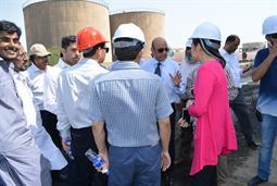 Chairman PQA visited Multi Purpose Terminal - 32