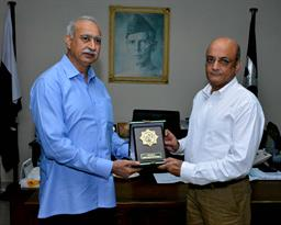 Chief Executive Officer Pakistan Railways visited PQA - 0