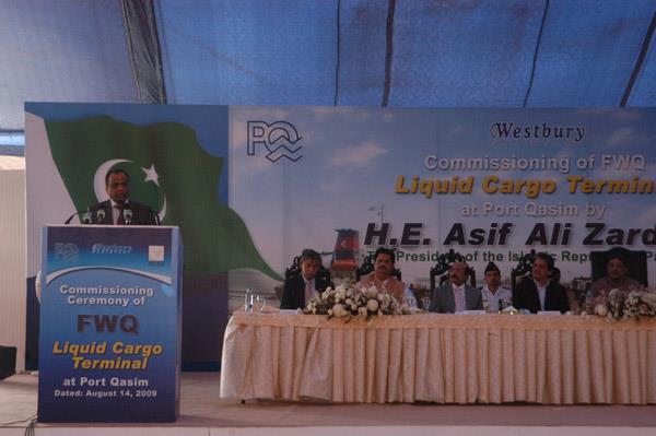 Commissioning Ceremony of FWQ Liquid Cargo Terminal - 9