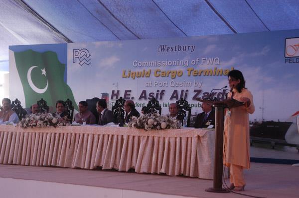 Commissioning Ceremony of FWQ Liquid Cargo Terminal - 10