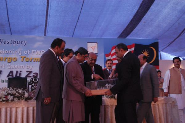 Commissioning Ceremony of FWQ Liquid Cargo Terminal - 12