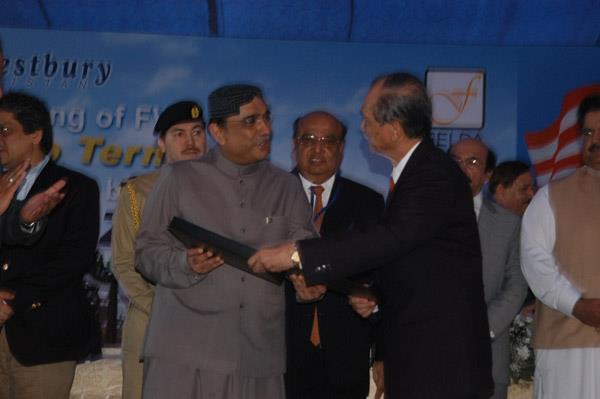 Commissioning Ceremony of FWQ Liquid Cargo Terminal - 13