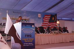 Commissioning Ceremony of FWQ Liquid Cargo Terminal - 11