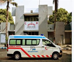 Federal Minister Inaugurated Ambulance Services - 17
