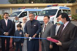 Federal Minister Inaugurated Ambulance Services - 6