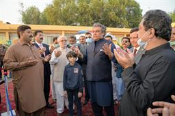 Federal Minister Inaugurated Ambulance Services - 7