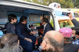 Federal Minister Inaugurated Ambulance Services - 8