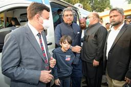 Federal Minister Inaugurated Ambulance Services - 9
