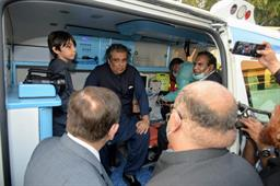 Federal Minister Inaugurated Ambulance Services - 10