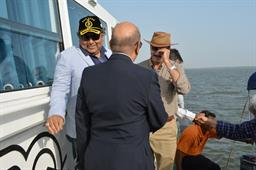 Federal Minister (Maritime Affairs) visited PQA on - 3