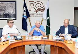 Finance Secretary visited PQA on 13th October, 2018 - 10