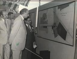 Foundation laying of Port Muhammad Bin Qasim on 5th August, 1976 - 5