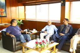 Minister Ali Zaidi Visited PQA - 15