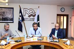 Minister Ali Zaidi Visited PQA - 17