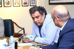 Minister Ali Zaidi Visited PQA - 18