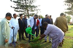 Minister Ali Zaidi Visited PQA - 21