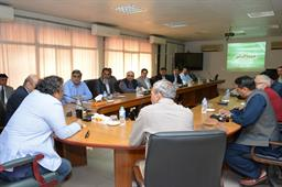 Minister Ali Zaidi Visited PQA - 46
