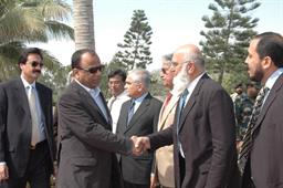 Minister of Port and Shipping Mr Babar Ghori Visit PQA Feb 2009 - 3