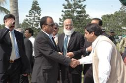 Minister of Port and Shipping Mr Babar Ghori Visit PQA Feb 2009 - 5