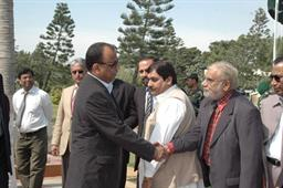 Minister of Port and Shipping Mr Babar Ghori Visit PQA Feb 2009 - 6