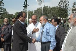 Minister of Port and Shipping Mr Babar Ghori Visit PQA Feb 2009 - 8