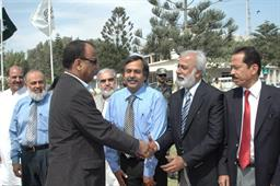 Minister of Port and Shipping Mr Babar Ghori Visit PQA Feb 2009 - 11