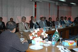 Minister of Port and Shipping Mr Babar Ghori Visit PQA Feb 2009 - 16