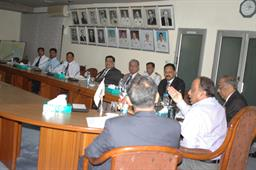 Minister P and S Visit - 3