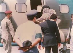 Mohterma Banezir Bhutto, Prime Minister of Pakistan visited PQA on 05th August 1989 - 3