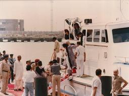 Mohterma Banezir Bhutto, Prime Minister of Pakistan visited PQA on 05th August 1989 - 8