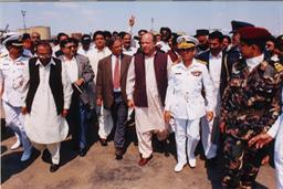 Prime Minister of Pakistan visited PQA on 06th March, 1998 - 3