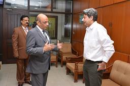 Secretary Maritime Affairs Visited PQA - 1
