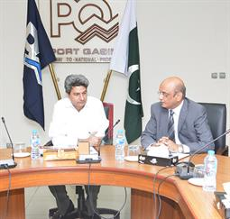 Secretary Maritime Affairs Visited PQA - 5