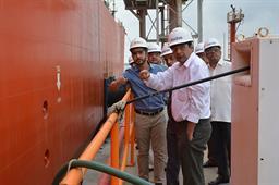 Secretary Maritime Affairs Visited PQA - 11