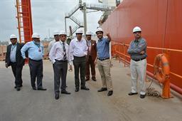 Secretary Maritime Affairs Visited PQA - 12