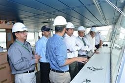 Secretary Maritime Affairs Visited PQA - 13