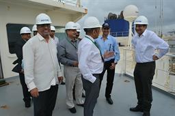 Secretary Maritime Affairs Visited PQA - 14