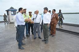 Secretary Maritime Affairs Visited PQA - 17