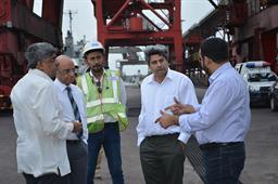 Secretary Maritime Affairs Visited PQA - 18