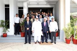 VISIT OF CARETAKER FEDERAL MINISTER - 4