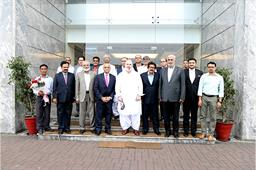 VISIT OF CARETAKER FEDERAL MINISTER - 5